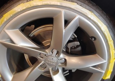 DENT STATION PLUS - painted alloy wheel repair after